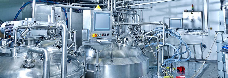 Wir sind Ihr Partner in den Technologiebereichen der Pharmazie, Chemie, Kosmetik und Nahrungsmittelindustrie.