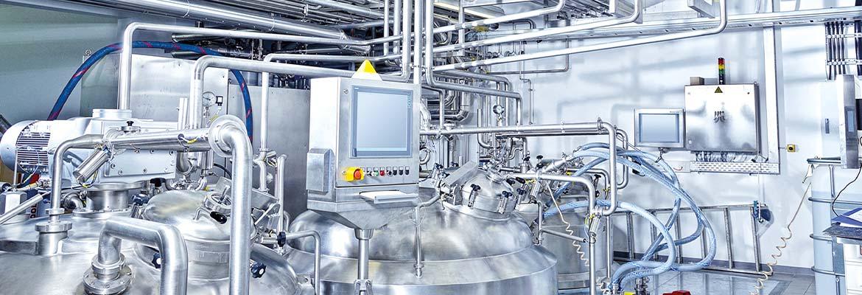 Verteilsysteme für AP-Wasser und Reinstdampfsysteme