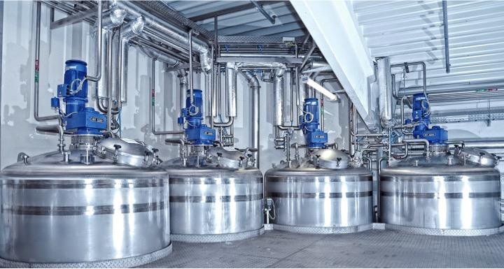 Mischanlage zur Herstellung von Shampoo |Emil Kiessling GmbH