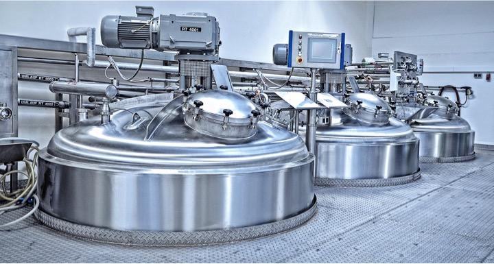 Mischanlage zur Herstellung von Shampoo, Emil Kiessling GmbH
