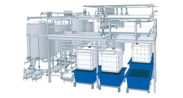 3D-Modell CIP-Anlage
