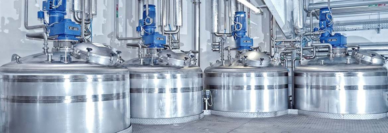 Mischanlage zur Herstellung von Shampoo   Emil Kiessling GmbH