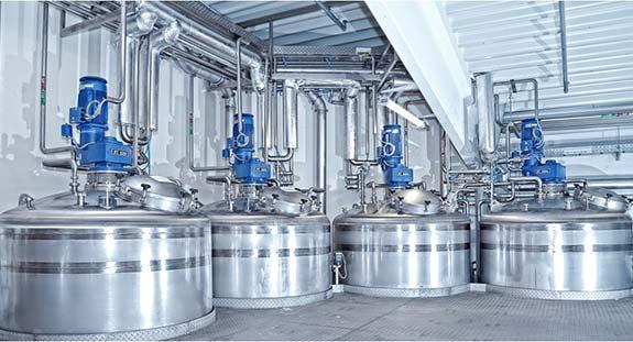 Kosmetik Mischanlage zur Herstellung von Shampoo | Emil Kiessling GmbH